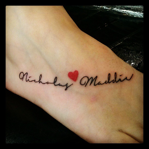 Name tattoo cursive letters memes for Tattoo shop name generator