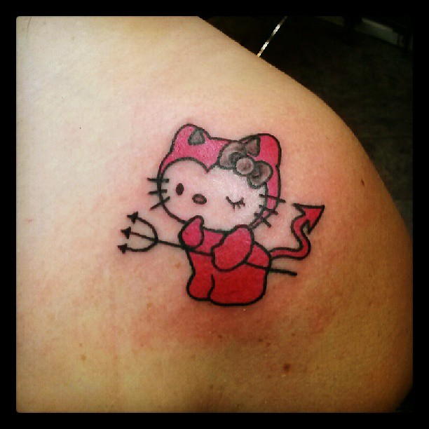 hello kitty tattoo s