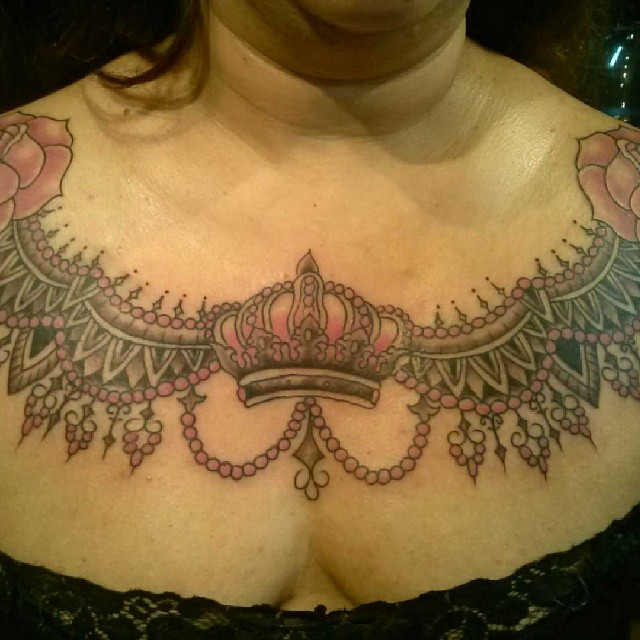 sacramento chest tattoo